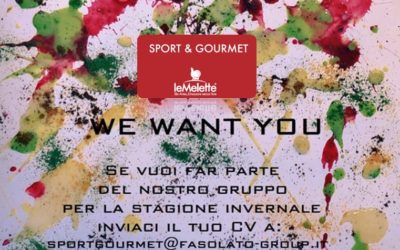 We want you: invia il tuo curriculum
