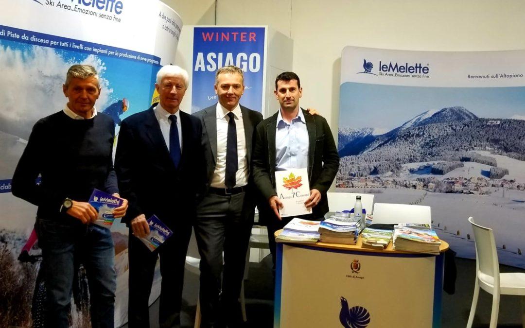 Il Comune di Asiago allo Skipass di Modena per il rilancio delle Melette