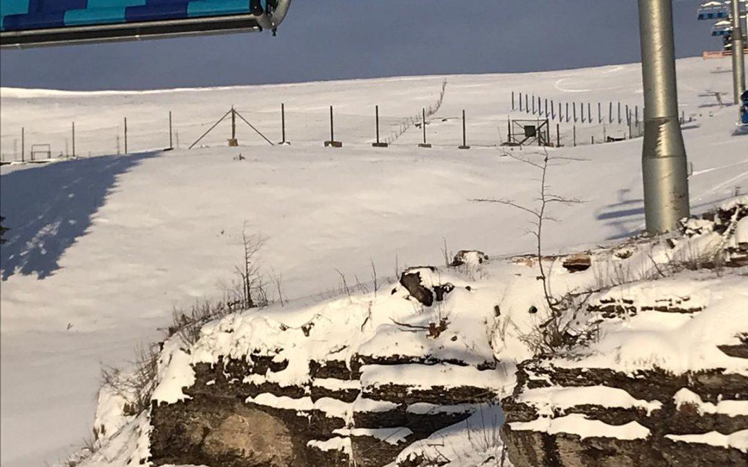 Situazione piste Ski Area leMelette al 23 dicembre 2019
