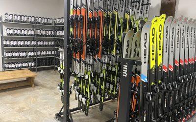 Noleggio sci alle Melette