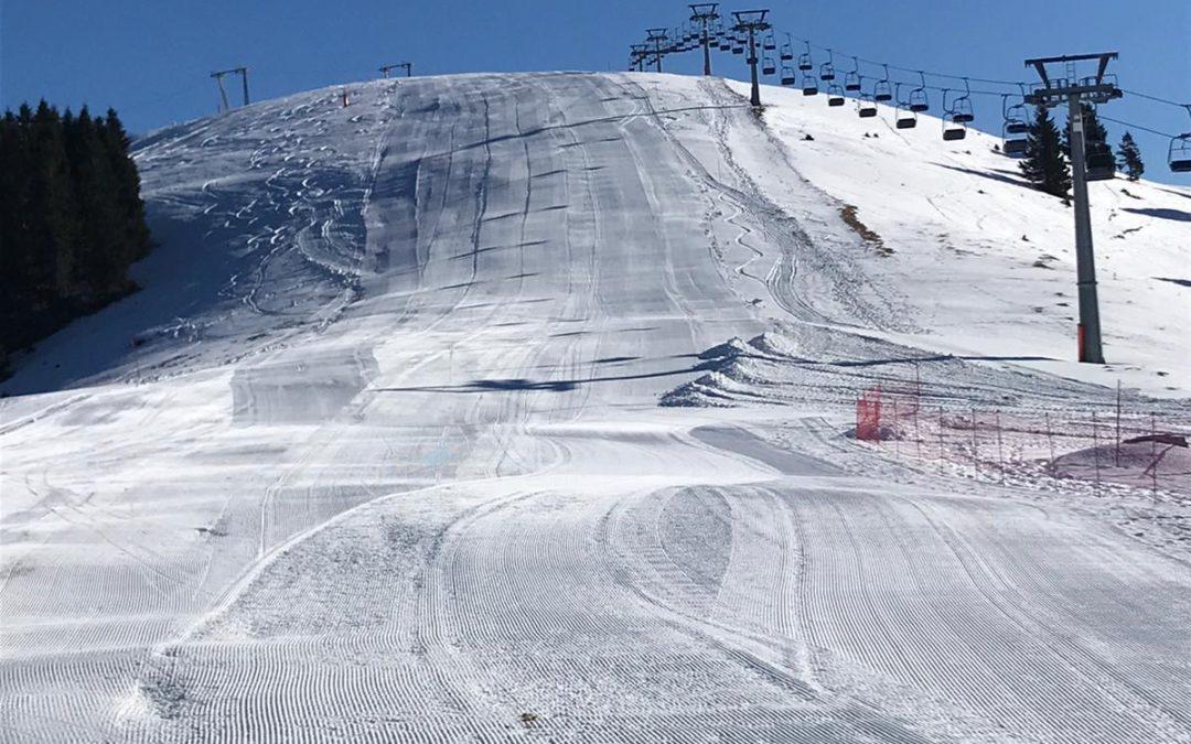 Sabato 25 gennaio apertura della seconda pista da sci: Meletta Davanti