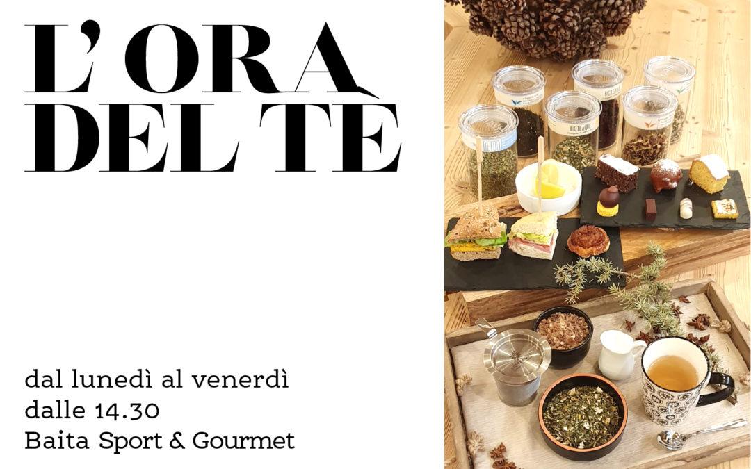 Alla baita Sport & Gourmet è giunta l'Ora del Tè