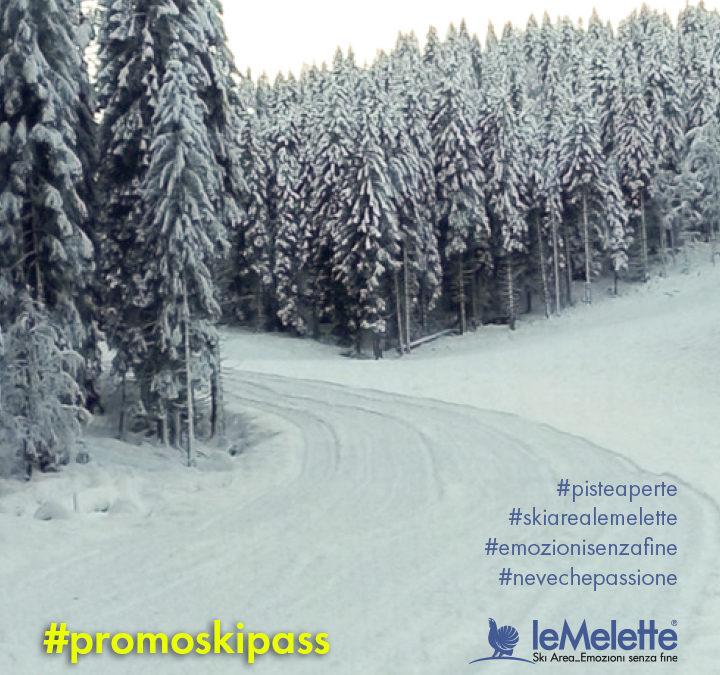 Con gli sconti alla Ski Area leMelette si festeggia la neve di marzo