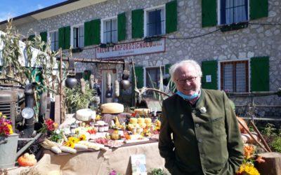 A malga Camporossignolo con Alberto Marcomini